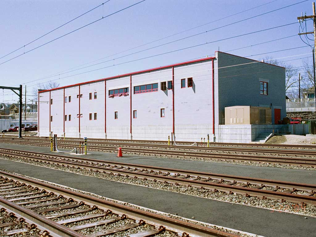 New Haven Rail Yard Transportation Building